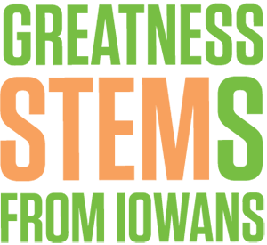 Iowa STEM logo